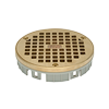 Floor Drain - Polished Brass